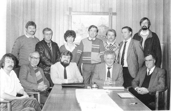 Der Gemeinderat Bilshausen von 1986 bis 1991