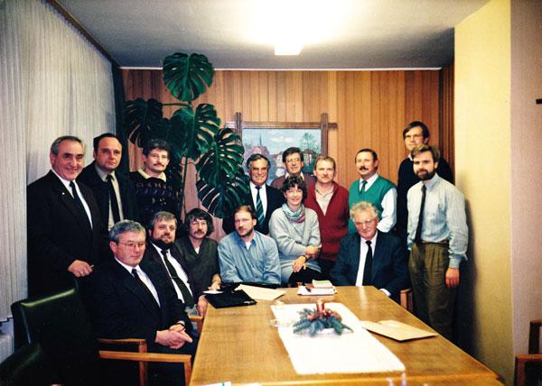 Der Gemeinderat Bilshausen von 1991 bis 1996