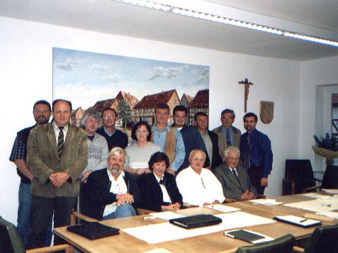 Der Gemeinderat Bilshausen von 1996 bis 2001