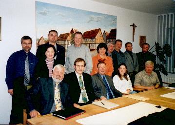 Der Gemeinderat Bilshausen von 2001 bis 2006