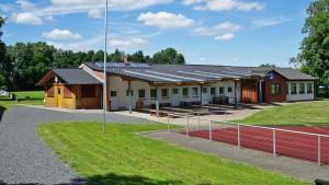Sporthaus mit Lehr- und Aufenthaltsraum