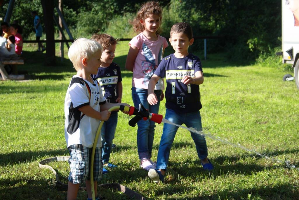 Spielplatzfest des Runden Familientisches in Bilshausen