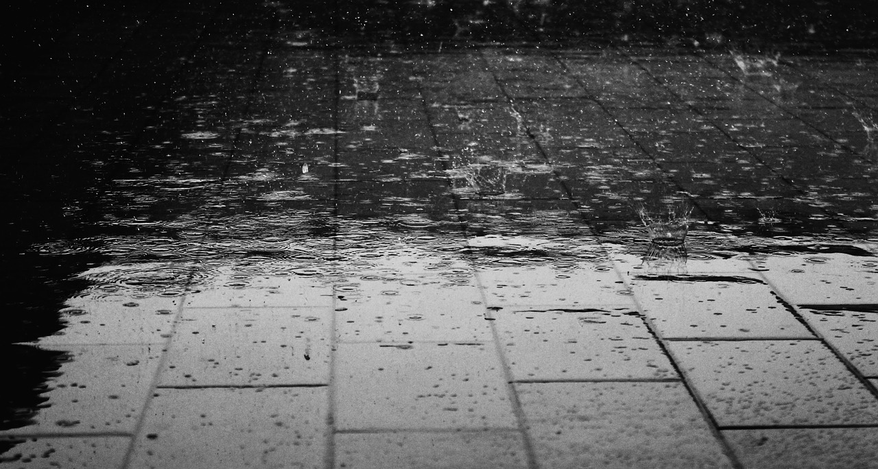 Regenschauer (Symbolbild)