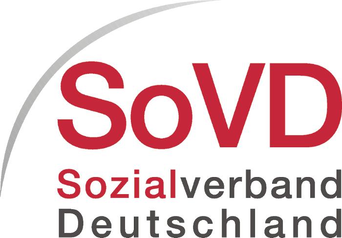 Logo Sozialverband Deutschland. Quelle: http://www.sovd.net/presseservice_downloads.0.html