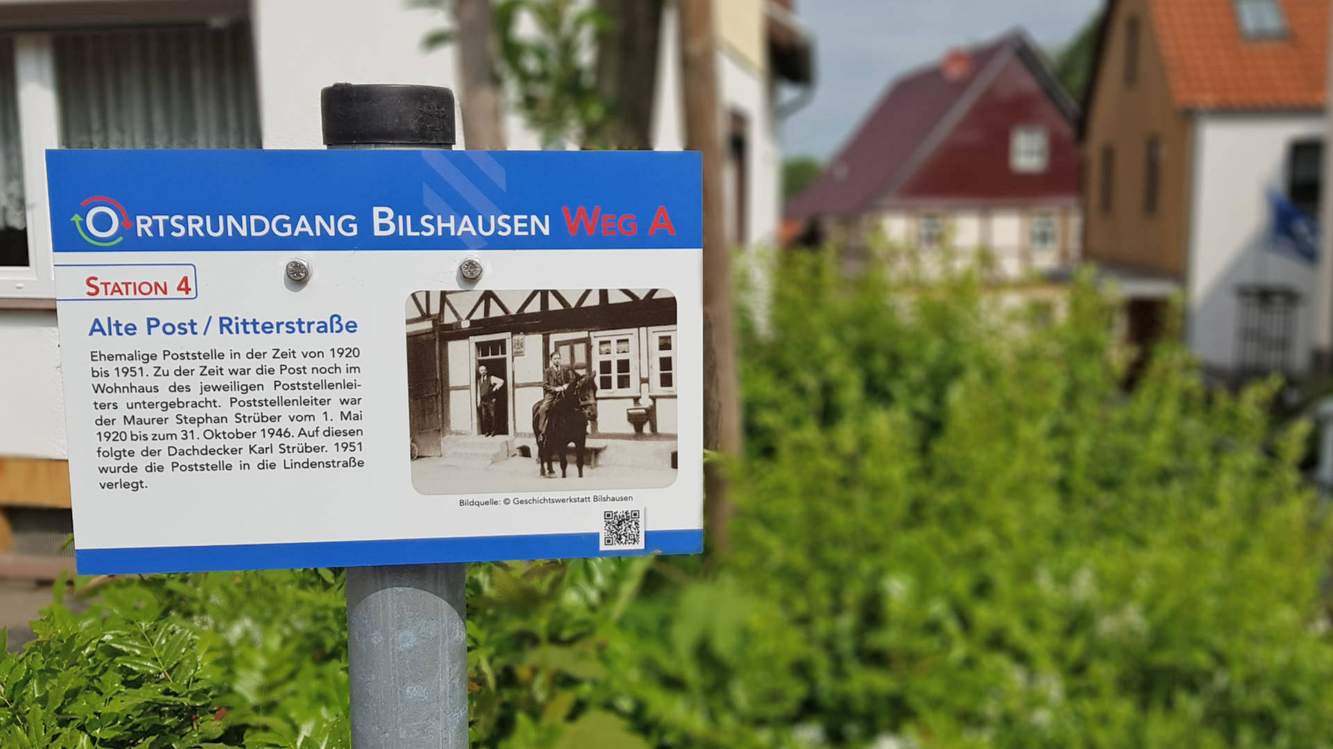 Ortsrundgang Bilshausen - Station 4