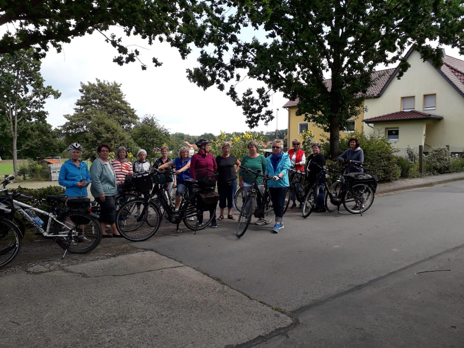 Fahrradtour 2019 des Katholischen Frauenbundes Bilshausen. Foto: Jürgen Beck