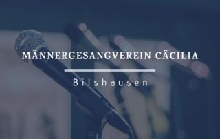 Männergesangverein Cäcilia Bilshausen