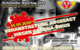 Eichsfelder Bikertag 2020 - Absage