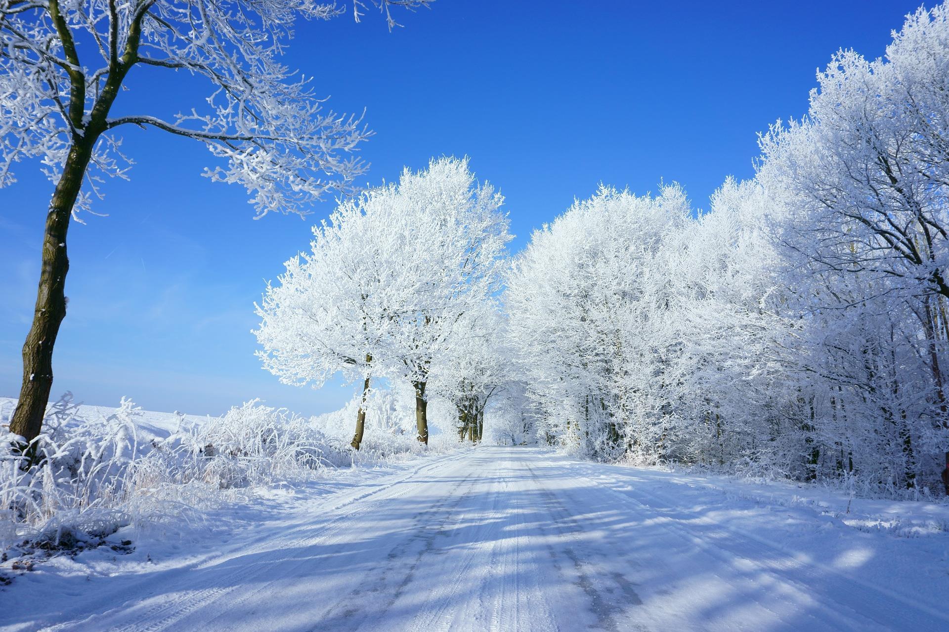 Winter in Bilshausen. Foto: Daniel Kaufmann